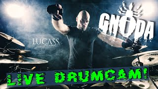 Full Live EXTREME Drumcam - GNIDA 2020!