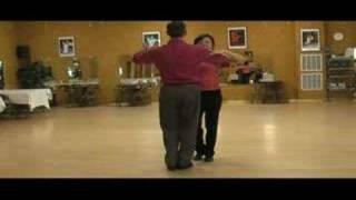 Virginia Beach Dance Lessons, Foxtrot Basic Promenade Left Rock Turn