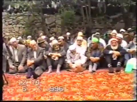 Абдулгъафурил Мухаммад 1996 год. Г1абдурах1ман-хажиясул зияраталда
