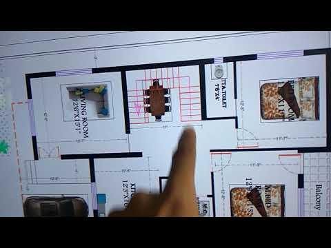 G+1 big family house plan