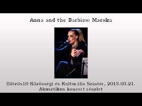Anna and the Barbies: Macska akusztikus előadás 0321