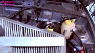 шевроле Ланос 1.5 Замена воздушного фильтра / Chevrolet Lanos air filter