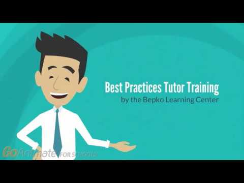 Best Practices Tutor Training