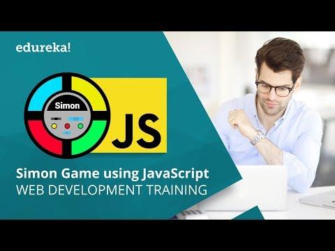 Developing A Simon Game Using JavaScript | JavaScript Tutorial For Beginners | Edureka