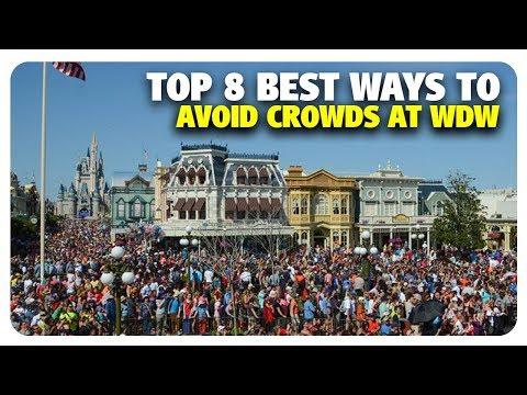 TOP 8 BEST Ways to Avoid Walt Disney World Crowds | Best and Worst | 02/20/19