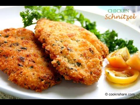 Chicken Schnitzels - YouTube