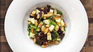 Салат с ХРУСТЯЩИМ арахисом и сыром БРИ [РЕЦЕПТ | IMBUE]