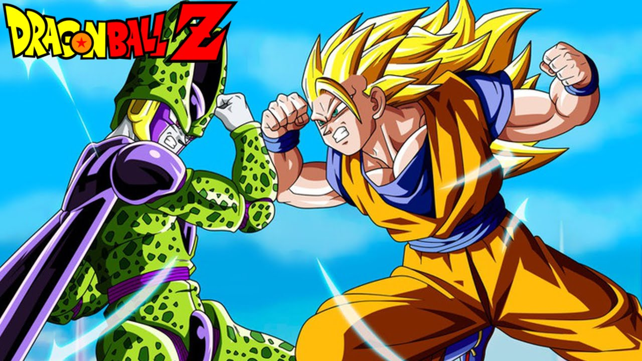 How strong is super saiyan 3 goku compared to cell dbn q - Sangoten super sayen 3 ...