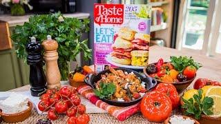 """Home & Family - Feta Shrimp Skillet Recipe From """"taste Of Home"""" Magazine"""