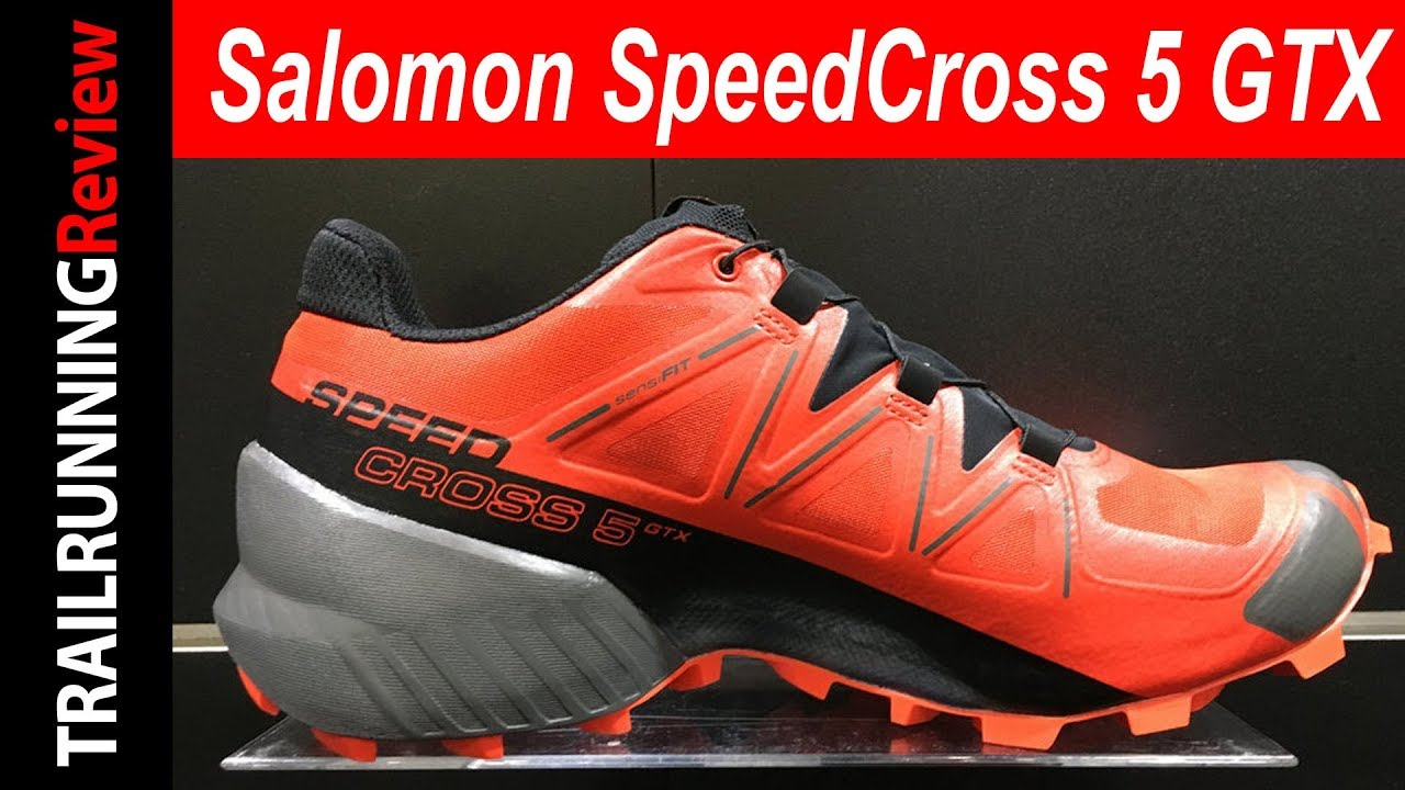 Salomon SpeedCross 5 GTX Preview - La todo terreno ahora con membrana  impermeable