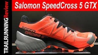 Salomon SpeedCross 5 GTX Preview - La todo terreno ahora con membrana impermeable