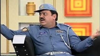Hasb e Haal - 13 December 2015 | Azizi as Traffic Warden