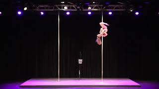 2019 US Pole Dance Championship Professional Division - Brittnai