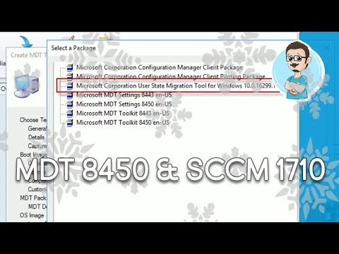 Upgrading to MDT 8450 within SCCM 1710! (2018 Winter Storm