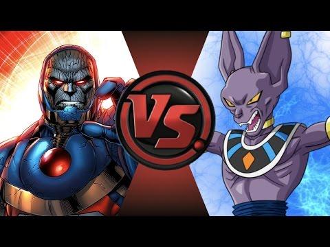 NEW 52 DARKSEID vs BEERUS! Cartoon Fight Club Episode 112