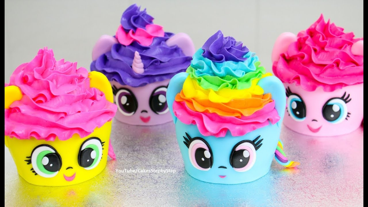MY LITTLE PONY Cupcakes Mini Cakes