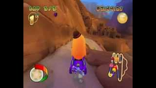 Pac-Man World Rally {PC Version} Playthrough-Part 2-Grape Cup{Easy Mode}.wmv