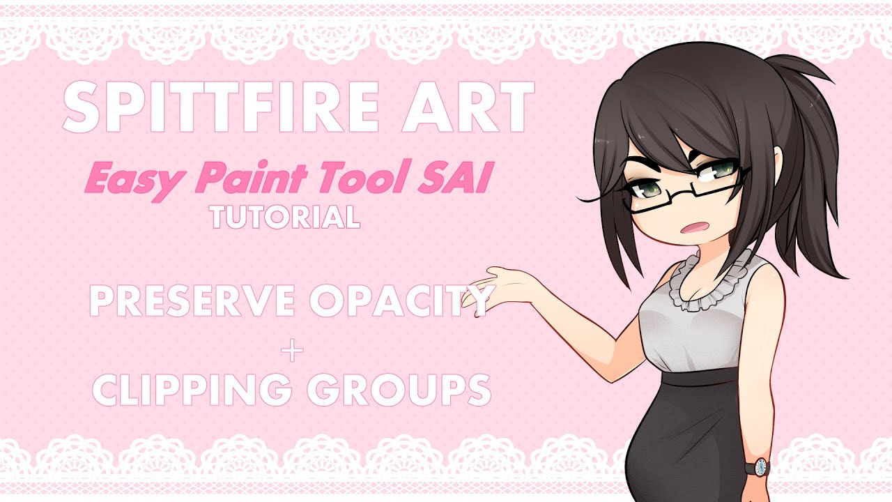 Yamio Lineart : Preserve opacity and clipping group tutorial youtube