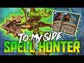 Spells Only Hunter! To My Side!  | Hearthstone | Kobolds and Catacombs