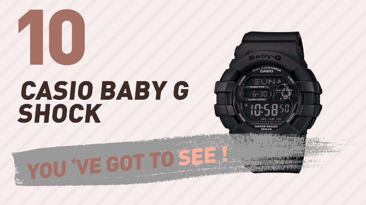 Casio Baby G Shock Top 10 New Popular 2017 Bga 230 7b Original