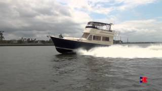 "Sold!!! Mainship 430 ""call Me Mike"" Sea Trials"