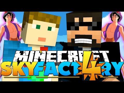 Minecraft: SkyFactory 4  A WHOLE NEW WORLD!! 33