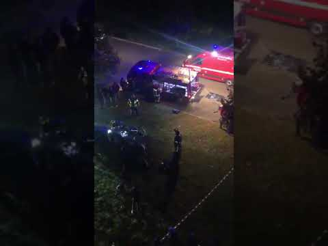Grave accidente en el puente internacional de Tui