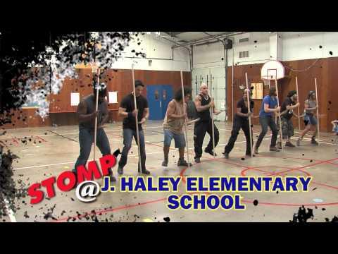 STOMP Visits John Haley Elementary School