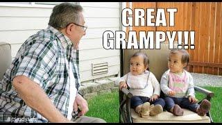 GREAT GRAMPY IS HERE!!! - July 13, 2015 -  ItsJudysLife Vlogs