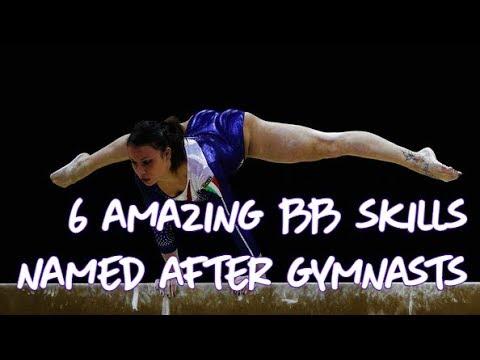 Gymnastics - 6 Amazing BB Skills Named After Gymnasts