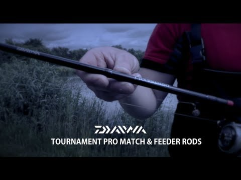 Daiwa Tournament Pro Match And Feeder Rods
