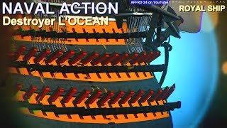Naval Action - My strongest First Rate Royal ship L'Ocean