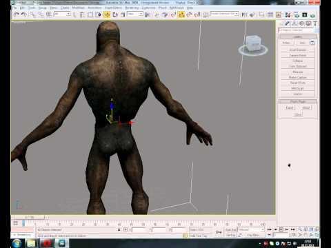 Импортирование 3D модели из игры Сталкер в 3D Max