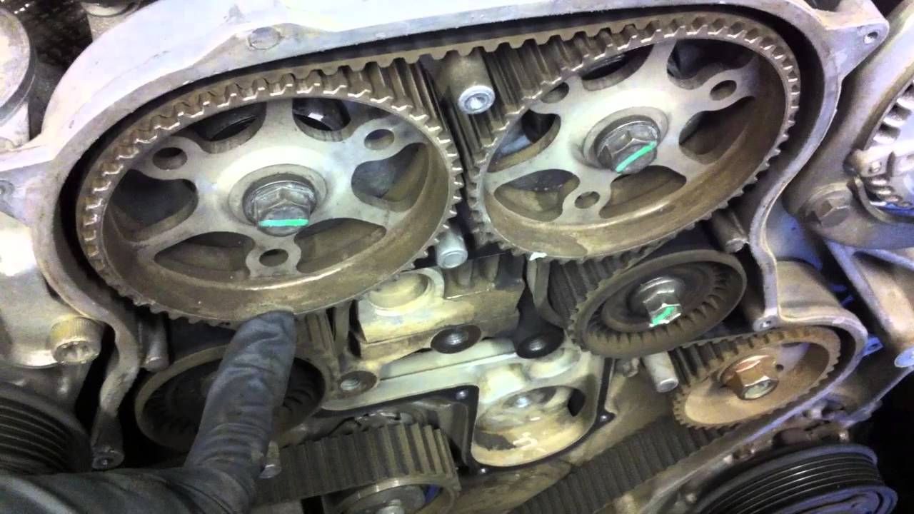 Timing Belt Marks Chrysler 3 4