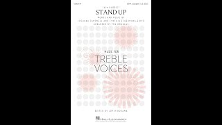 Stand Up (from Harriet) (SSAA Choir, a cappella) - Arranged by Téa Douglas