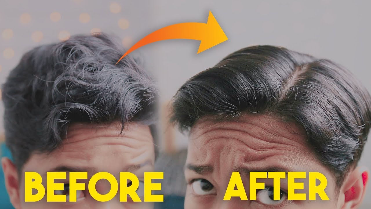 Tips Meluruskan Rambut Dengan Gentle Fever Yang Benar Perawatan Rambut Pria Youtube