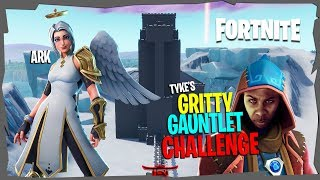 [FREE ARK SKIN GIVEAWAY!!] || Gritty Gauntlet Challenge || Fortnite Battle Royale