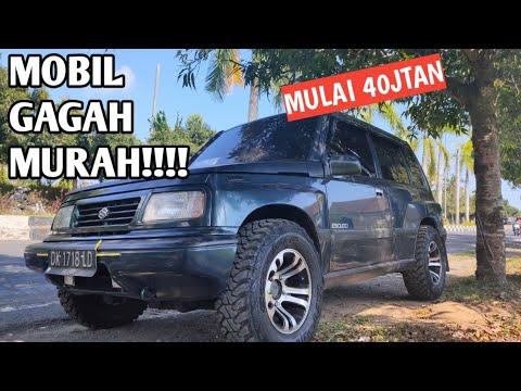 TANGGUH!! Mobil SUV Tampilan Ganteng Gagah Mesin Anti Cerewt- Escudo 1994