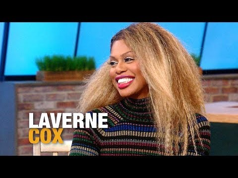 Laverne Cox Dishes on Her Glam Routine  Rachael Ray