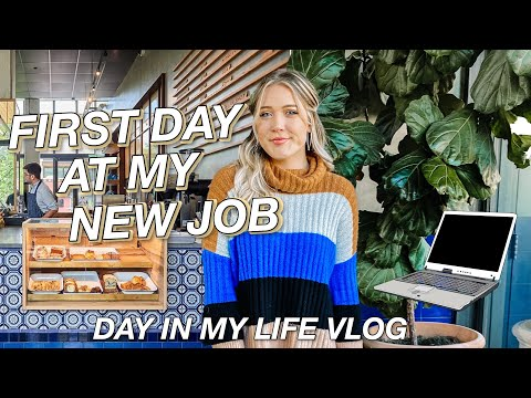 DAY IN MY LIFE | First Day Working From Home!