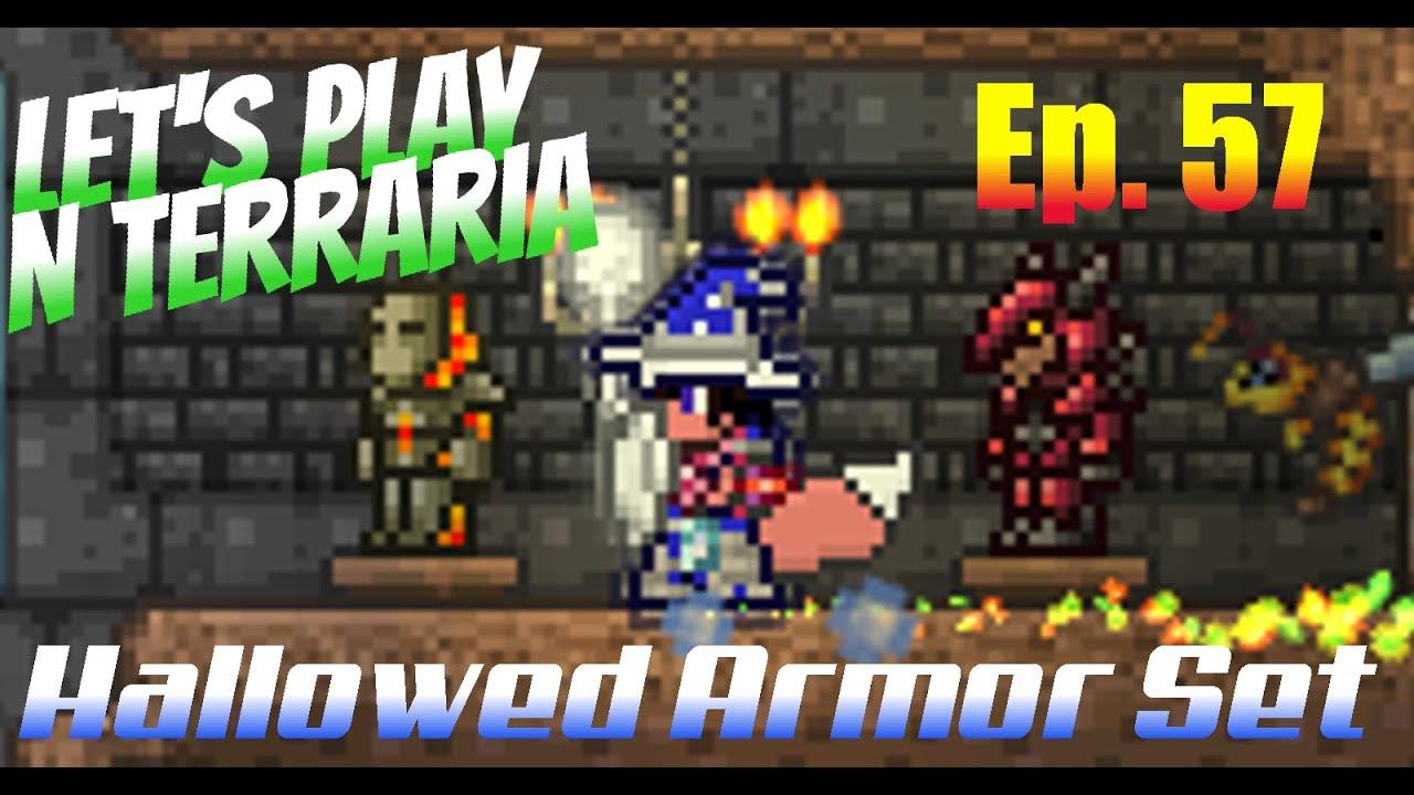 terraria how to make hallowed armor