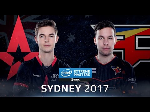 CS:GO - Astralis vs. FaZe [Train] Map 3 - Semifinal - IEM Sydney 2017