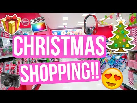 LAST MINUTE CHRISTMAS SHOPPING!!! VLOGMAS DAY 22!!