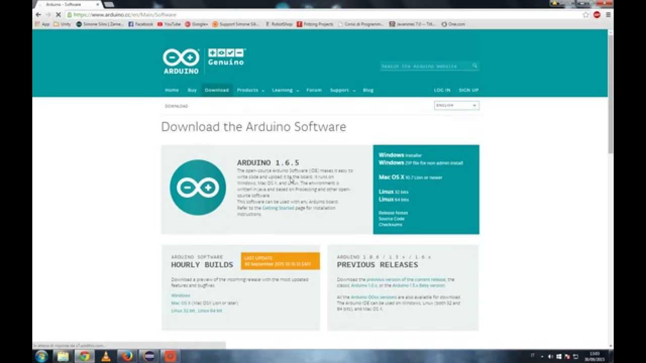 Tutorial Arduino how to download arduino software - YouTube  Tutorial Arduin...