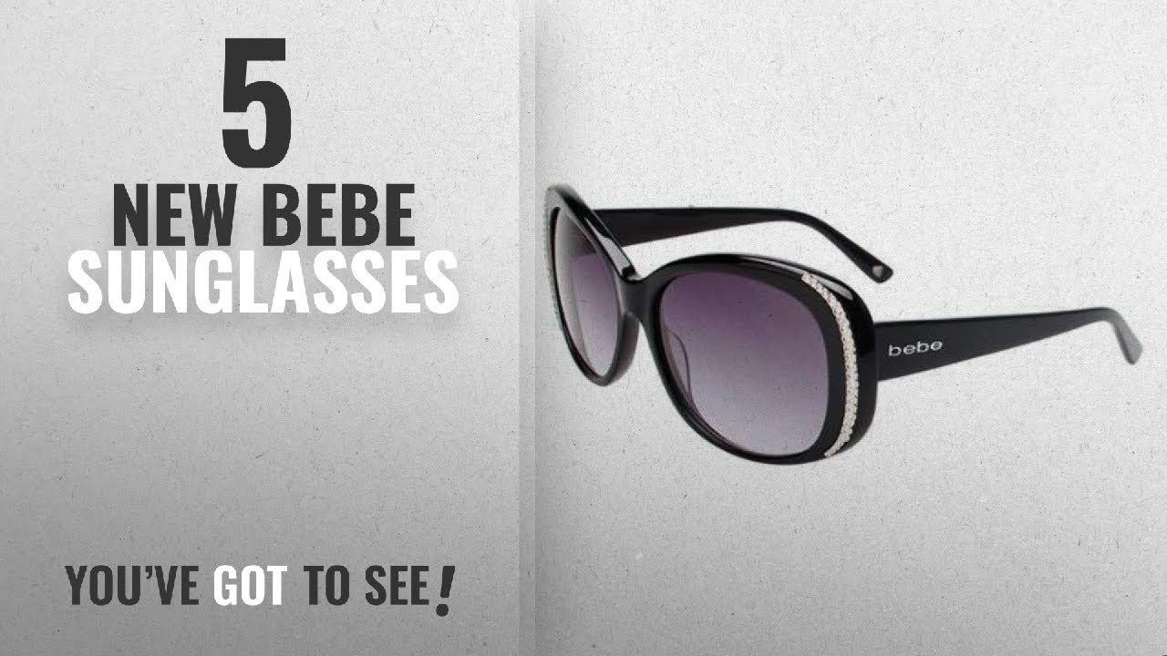 3f359dbae93 Top 10 Bebe Sunglasses   Winter 2018    BEBE Sunglasses BB7092 001 ...