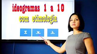 Aula de Mandarim - Ideogramas aula 1 - Escreva e fale de 1 a 10 facilmente