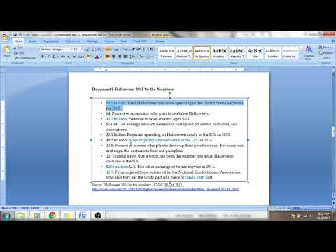 How to Complete Your DBQ Planning Page?