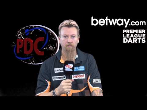 Simon Whitlock answers Betway's Quick Fire Questions!