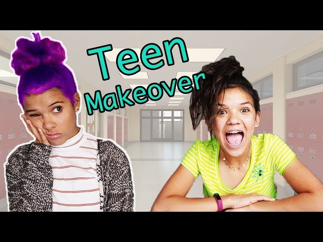 Sister DECIDES my Back to SCHOOL Makeover & First Day of School OUTFIT!