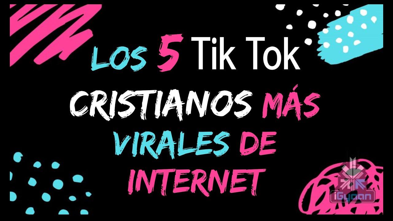 Top 5 Los Mejores Tiktok Cristianos Youtube
